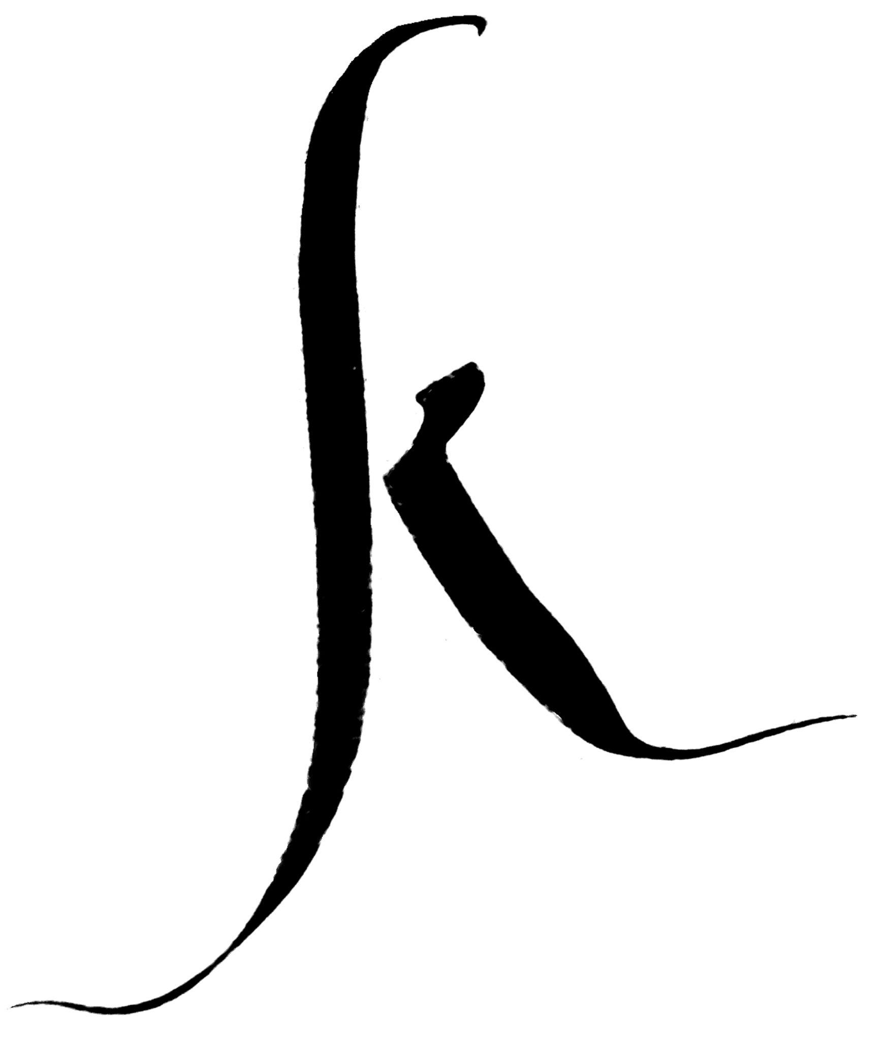 iniziale calligrafica